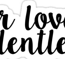 Your love is relentless - Hillsong United Sticker