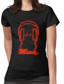 Red Vibes. Womens Fitted T-Shirt