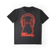 Red Vibes. Graphic T-Shirt