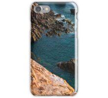 Sardinia cliff iPhone Case/Skin