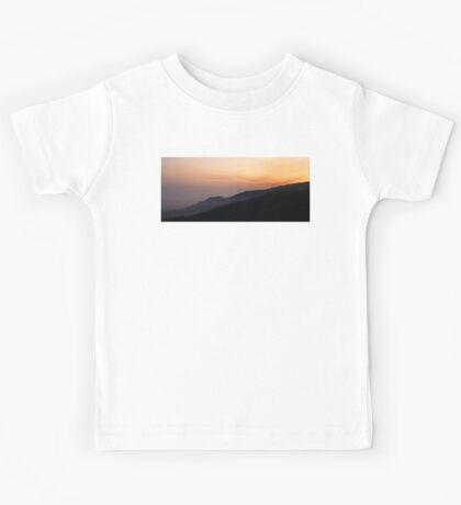 Hillside Sunset Kids Tee