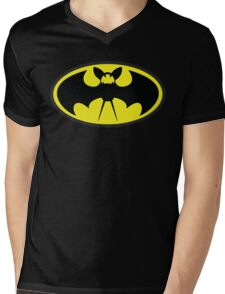 Zubatman Mens V-Neck T-Shirt
