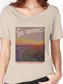 Black Mirror - San Junipero Women's Relaxed Fit T-Shirt