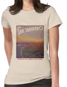Black Mirror - San Junipero Womens Fitted T-Shirt