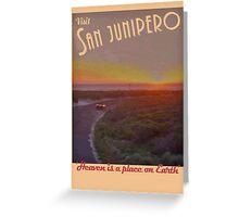 Black Mirror - San Junipero Greeting Card