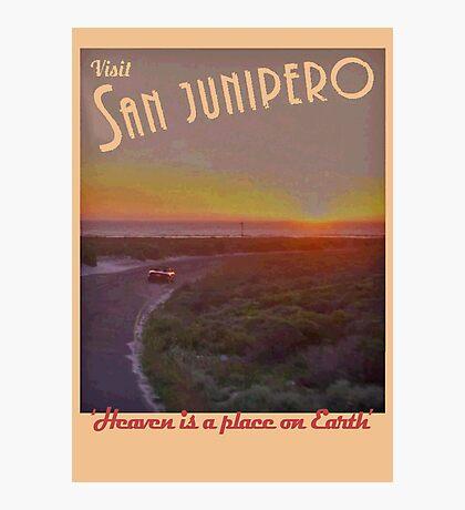 Black Mirror - San Junipero Photographic Print