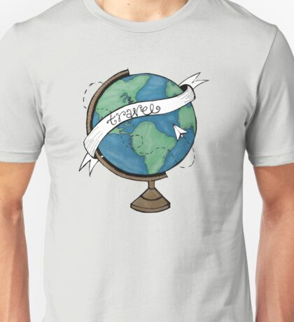 Traveling the World Unisex T-Shirt