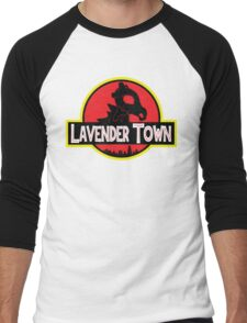 Lavender Town Men's Baseball ¾ T-Shirt