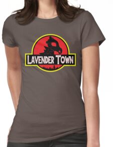 Lavender Town Womens Fitted T-Shirt