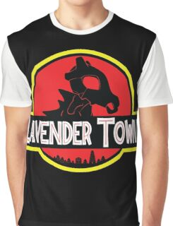 Lavender Town Graphic T-Shirt
