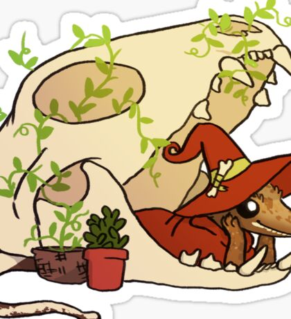 Crested Gecko - Nerd Sticker