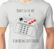 Jaguar Controller - Don't Hate Me Unisex T-Shirt