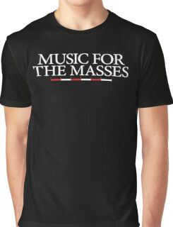 Music for the Masses Graphic T-Shirt