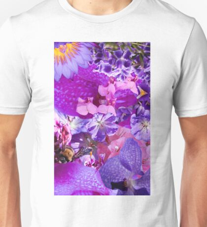 Purple Gardens Unisex T-Shirt
