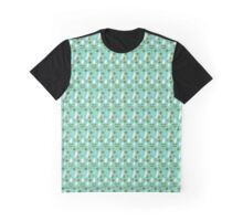 Crazy Eyes Retro Pattern Graphic T-Shirt