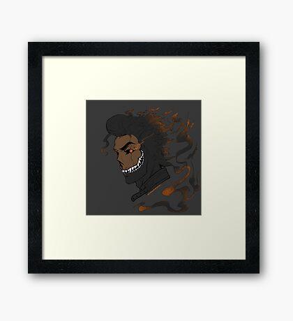Sly Trash Framed Print