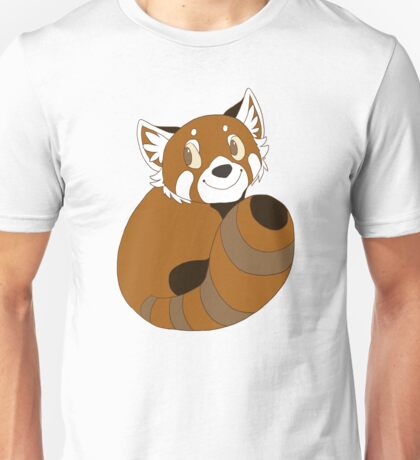 Red Panda Cuddle Unisex T-Shirt