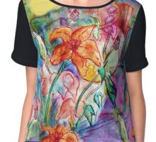 Wild Lily Women's Chiffon Top