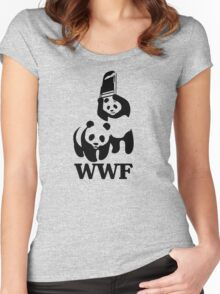 WWF Women's Fitted Scoop T-Shirt