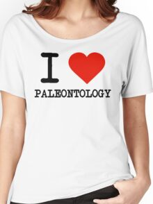 I Love Paleontology Women's Relaxed Fit T-Shirt