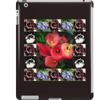 Bulbs and Blossoms Collage iPad Case/Skin