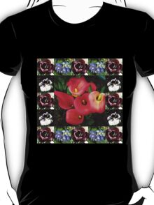 Bulbs and Blossoms Collage T-Shirt