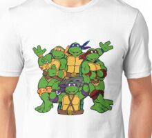 Teenage Tripping Turtles  Unisex T-Shirt