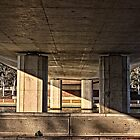 Under the Bridge at Lake Tuggeranong, Canberra, Australian Capital Territory by Wolf Sverak