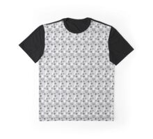 Crazy Eyes Monochrome Pattern Graphic T-Shirt
