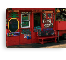 Hawaiian Juice Bar Canvas Print