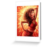 Catching Fire - August Heat Greeting Card