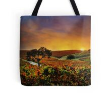 Autumn Vineyard Tote Bag