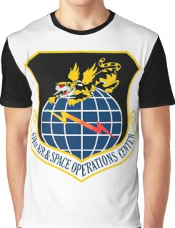 614th Air and Space Operations Center Graphic T-Shirt