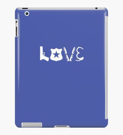 Law Enforcement iPad Case/Skin