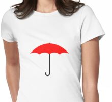 Traveler's Umbrella Womens Fitted T-Shirt