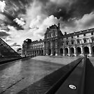Transitions – Louvre Pyramid, Paris, France by Norman Repacholi