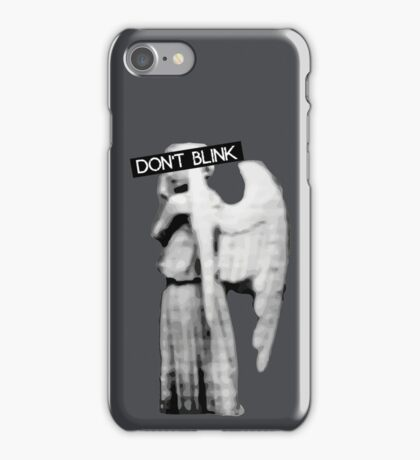 [Doctor Who] Don't Blink - Angel iPhone Case/Skin