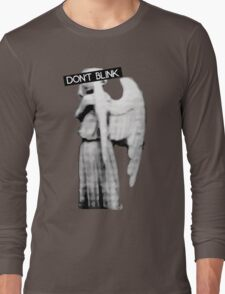 [Doctor Who] Don't Blink - Angel Long Sleeve T-Shirt
