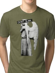 [Doctor Who] Don't Blink - Angel Tri-blend T-Shirt