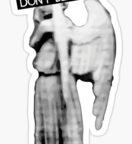 [Doctor Who] Don't Blink - Angel Sticker