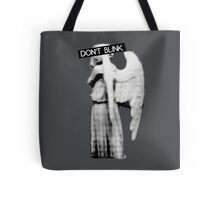 [Doctor Who] Don't Blink - Angel Tote Bag