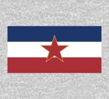 Flag of Socialist Federal Republic of Yugoslavia T-Shirt