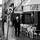 Parisian Cafe - France by Norman Repacholi