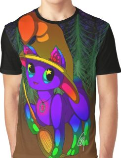 Neon Witchy Vibes Graphic T-Shirt