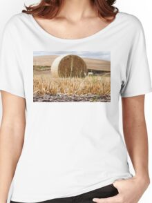 Wheat Bale Photo Women's Relaxed Fit T-Shirt