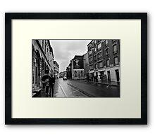 Urban terrior - Reims France Framed Print