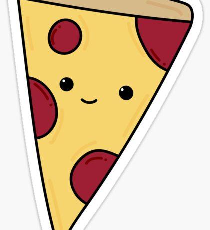 Pepperoni pizza. Sticker