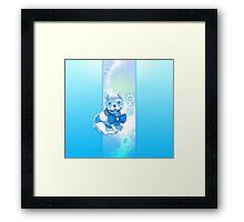 Sailor MercuFrenchie (Gradient) Framed Print