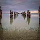 Old Clifton Springs Jetty, Victoria by susanzentay