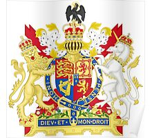 Coat of Arms of the United Kingdom  Poster